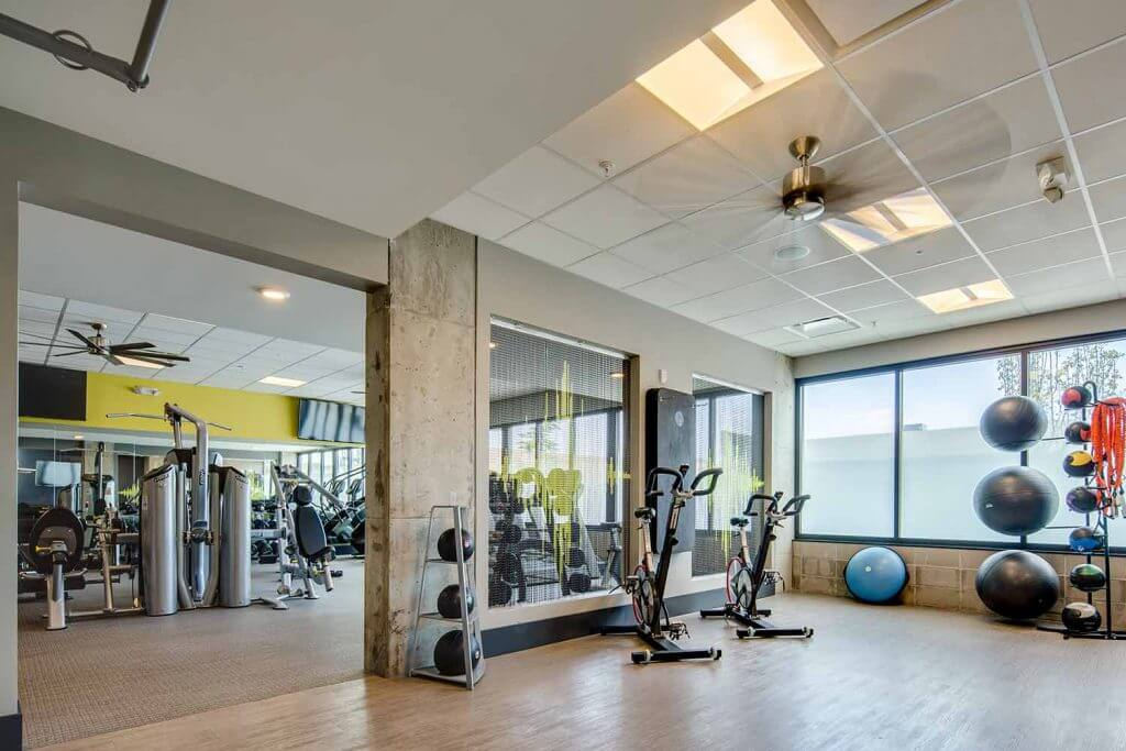 Community Fitness Center - Denizen Apartments Denver