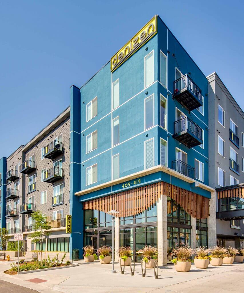Denizen Denver Apartments Exterior 1